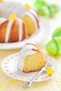 Slice Of Lemon Cake Royalty Free Stock Image - 30567546