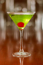 Green Cocktail Royalty Free Stock Photography - 30587127