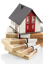 House On Euro Banknotes Royalty Free Stock Images - 30587659