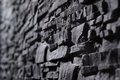 Texture Of Gray Stonewall Royalty Free Stock Photography - 30588127