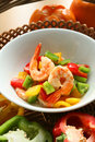 Prawn With Pepper Stock Photo - 3062190