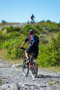 Two Bikers Uphill Stock Photography - 3063452