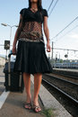 Woman Leaving On A Journey Royalty Free Stock Photography - 3065227