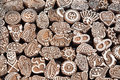 Henna Wooden Stamps Royalty Free Stock Images - 30611809
