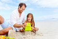 Happy Sand Castle Child Royalty Free Stock Photography - 30611937