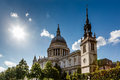 Saint Paul S Cathedral In London On Sunny Day Stock Photo - 30621520