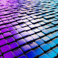 Abstract Cube Background Techno Wallpaper Stock Images - 30627984