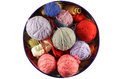 Colorful Knitting  Wool Balls Royalty Free Stock Photos - 30629428