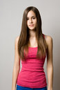 Serious Teen Beauty. Royalty Free Stock Image - 30634696