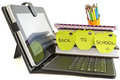 Back To School With Digital Tablet Pc Stock Images - 30651514