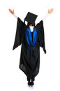 Graduate Student Rear View Royalty Free Stock Photos - 30662328