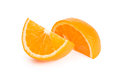 Two Slices Of Orange Royalty Free Stock Images - 30666719