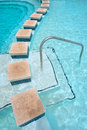 Border Of A Pool In Hot Springs Spa Royalty Free Stock Image - 30682676