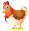 A Mother Hen Royalty Free Stock Image - 30697786
