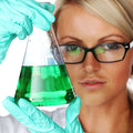 Chemical Experiment Royalty Free Stock Images - 30711609