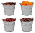 Dried Fruit - Sultanas,  Apricots, Cranberries And Raisins - In Royalty Free Stock Photography - 30713127