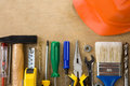 Set Of Construction Tools Royalty Free Stock Photos - 30713878