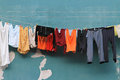 Clothes Line Royalty Free Stock Images - 30714449