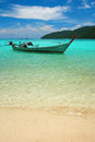 Andaman Seascape With Boat Stock Photos - 30746193