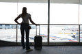 Girl At The Airport Stock Photography - 30749042
