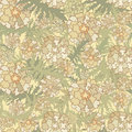 Abstract Beige Floral Seamless Texture Stock Photo - 30750940