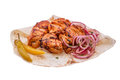 Shish Kebab From A Chicken Breast Stock Images - 30763714