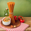 Italian Pasta With Tomatoes Stock Images - 30791424
