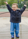 Child In Puddle Royalty Free Stock Photography - 30796917