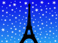 Eiffel Tower In Winter Royalty Free Stock Photo - 3083595