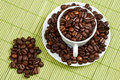 Coffee Beans In A Cup Stock Photography - 3085452