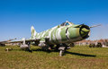 Russian Military Jet Fighter Plane Su-17 Stock Photography - 30803882
