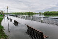 Flood Waters In Park Stock Images - 30806004