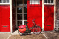 Amsterdam City With Bike In Holland Royalty Free Stock Photo - 30811945