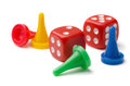 Pawns And Dices Stock Images - 30818934