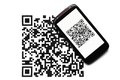 QR Code Mobile Scanner Stock Images - 30844844