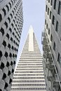 Low Angle View Of The Transamerica Pyramid San Francisco Designed By William Pereira Stock Images - 30850914