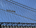 Construction Workers Crew Repair Cables On The  Brooklyn Bridge Stock Images - 30879844