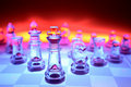 Transparent Chess Pieces Royalty Free Stock Image - 3091636