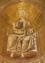 Palermo - Mosaics Of Saint Peter From Side Apse Of Monreale Cathedral. Royalty Free Stock Photography - 30913067