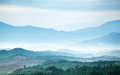 Mountains Under Mist Stock Image - 30914551