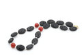 Lava Stone Necklace Royalty Free Stock Photos - 30924008