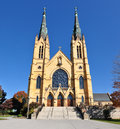 Front Facade Of St. Andrew S Catholic Church Royalty Free Stock Photos - 30928788