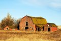 Abandoned Red Barns Stock Photo - 30929380