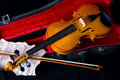 Violin In Carry Case Stock Photo - 30929660