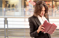 Woman Checking The Wallet Royalty Free Stock Photos - 30930388