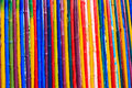 Texture Of Dyed Bamboo Sticks Stock Images - 30933614