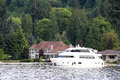 Luxury House And Boat Royalty Free Stock Images - 30934319