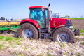 Red Tractor Royalty Free Stock Images - 30936059