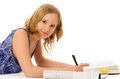 Girl Studying Stock Images - 30936494
