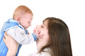 Young Mother And Baby Stock Image - 30940541